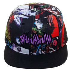Hats - DC The Joker Sublimated Haha Adjustable Hat