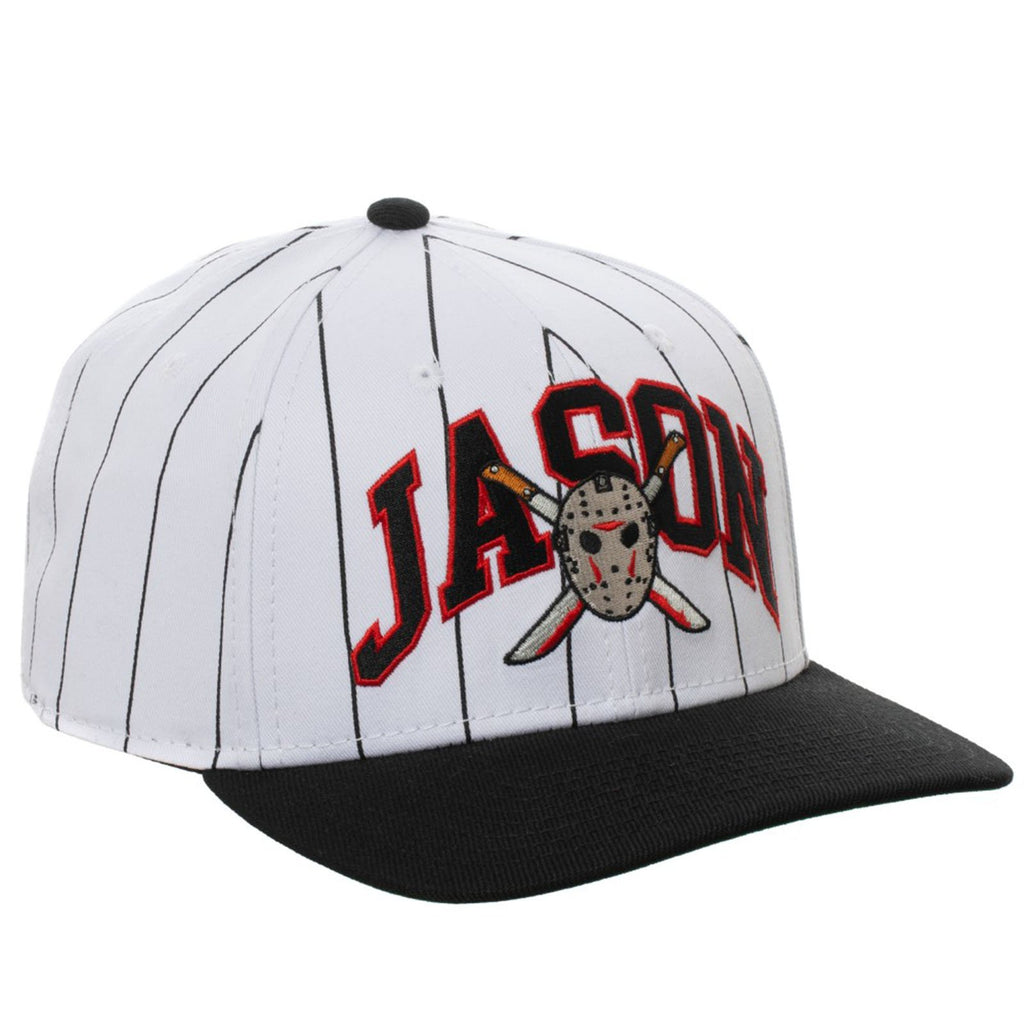 Friday The Thirteenth Pinstripe Snapback Hat