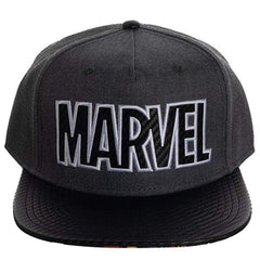 Hats - Marvel Superheroes Grey Snapback Hat