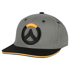 Hats - Overwatch Blocked Stretch Fit Black Hat