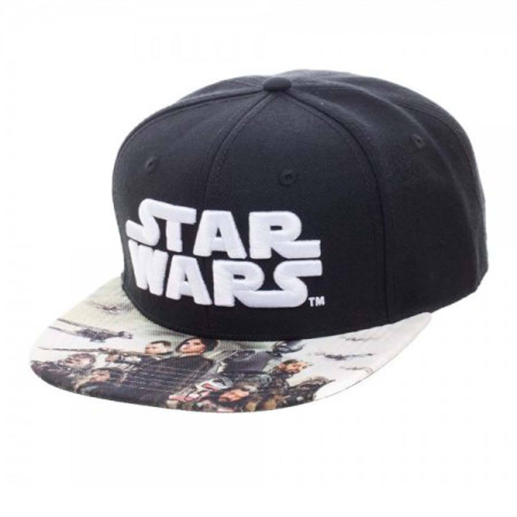 Star Wars Rogue One Sublimated Bill Snapback Hat