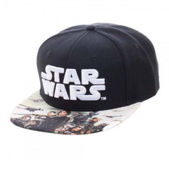 Hats - Star Wars Rogue One Sublimated Bill Snapback Hat