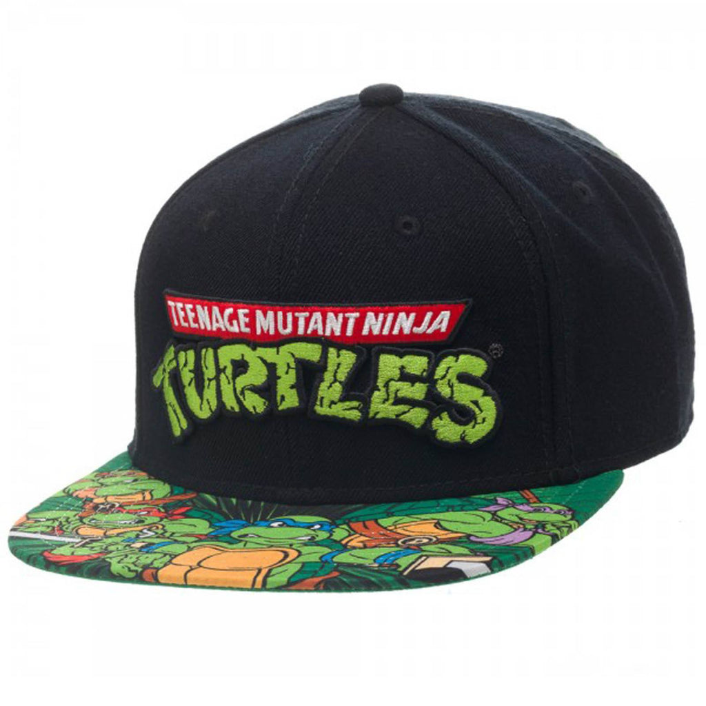 Teenage Mutant Ninja Turtles Burst Snapback Hat