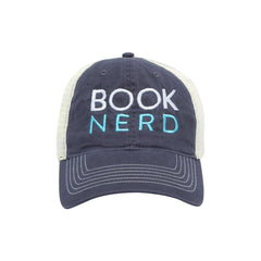 Hats - Underlined Book Nerd Trucker Snapback Hat