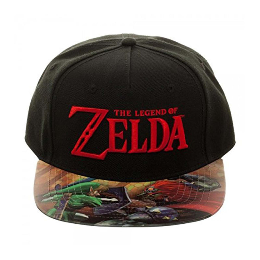 Zelda Printed Flat Bill Adjustable Hat