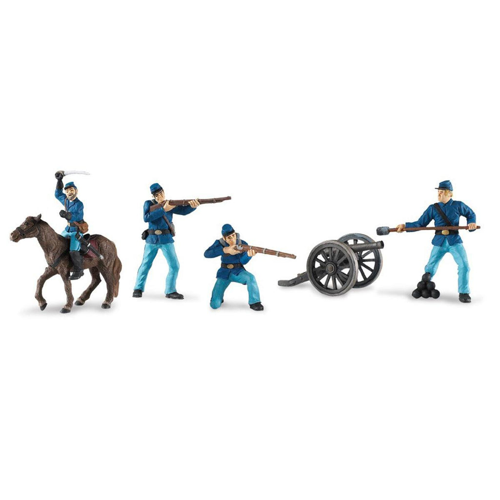 Civil War Union Soldiers Collection 2 Toob Mini Figures Safari Ltd - Radar Toys