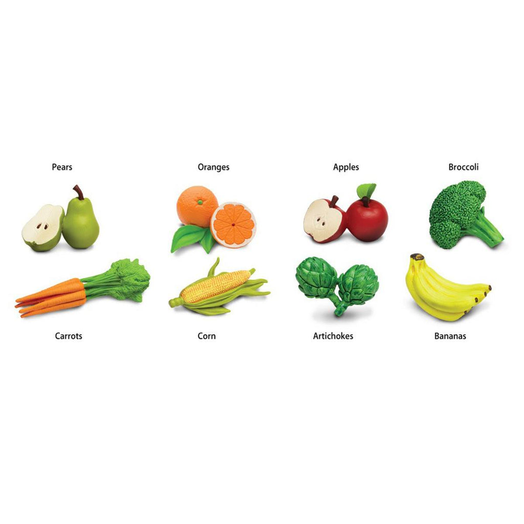 Fruit and Vegetables Toob Mini Figures Safari Ltd - Radar Toys