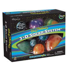 History And Science Toys - Great Explorations 3-D Solar System 240 Piece Set
