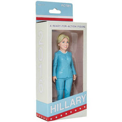 Hillary Clinton A Ready For Action 6 Inch Figure - Radar Toys