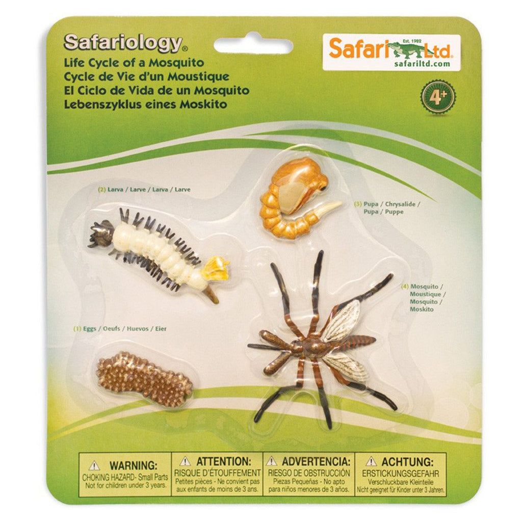 Life Cycle Of A Mosquito Figures Safari Ltd