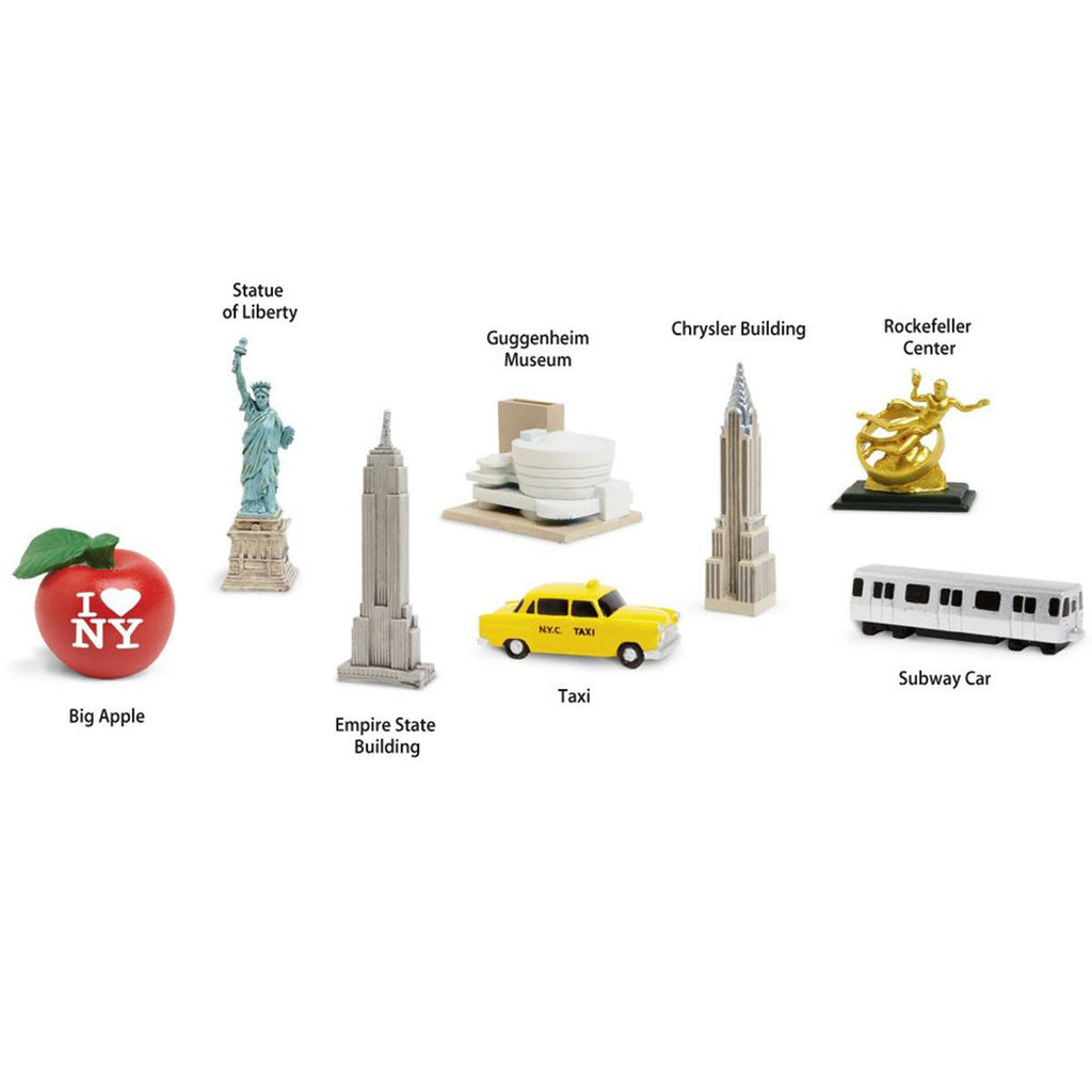 New York City Toob Mini Figures Safari Ltd - Radar Toys