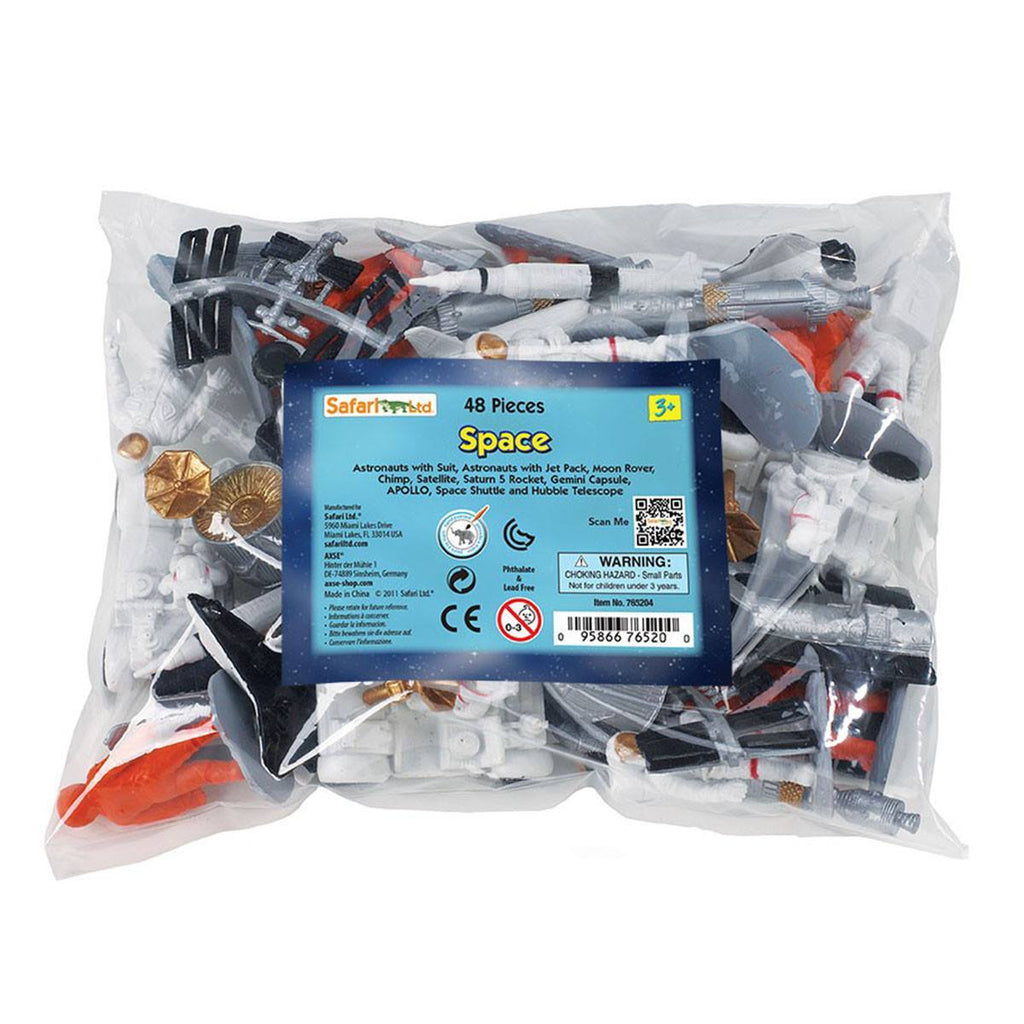Space Bulk Bag Mini Figures Safari Ltd