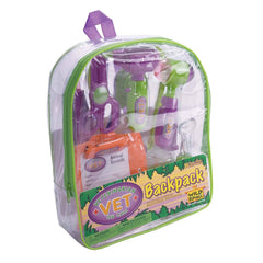 History And Science Toys - Veterinarian Vet On Call Backpack Playset
