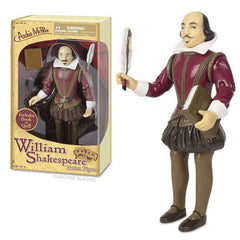 History And Science Toys - William Shakespeare Action Figure