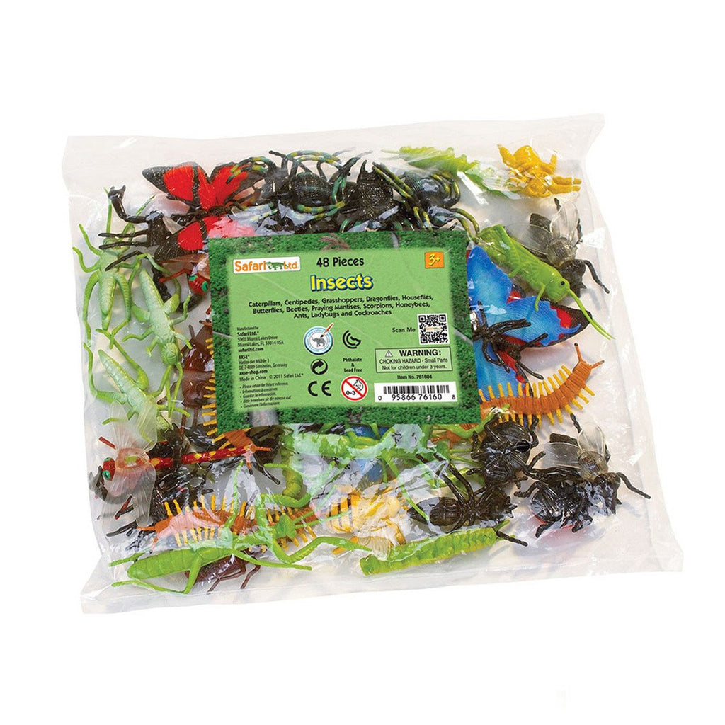 Insects Bulk Bag Mini Figures Safari Ltd - Radar Toys