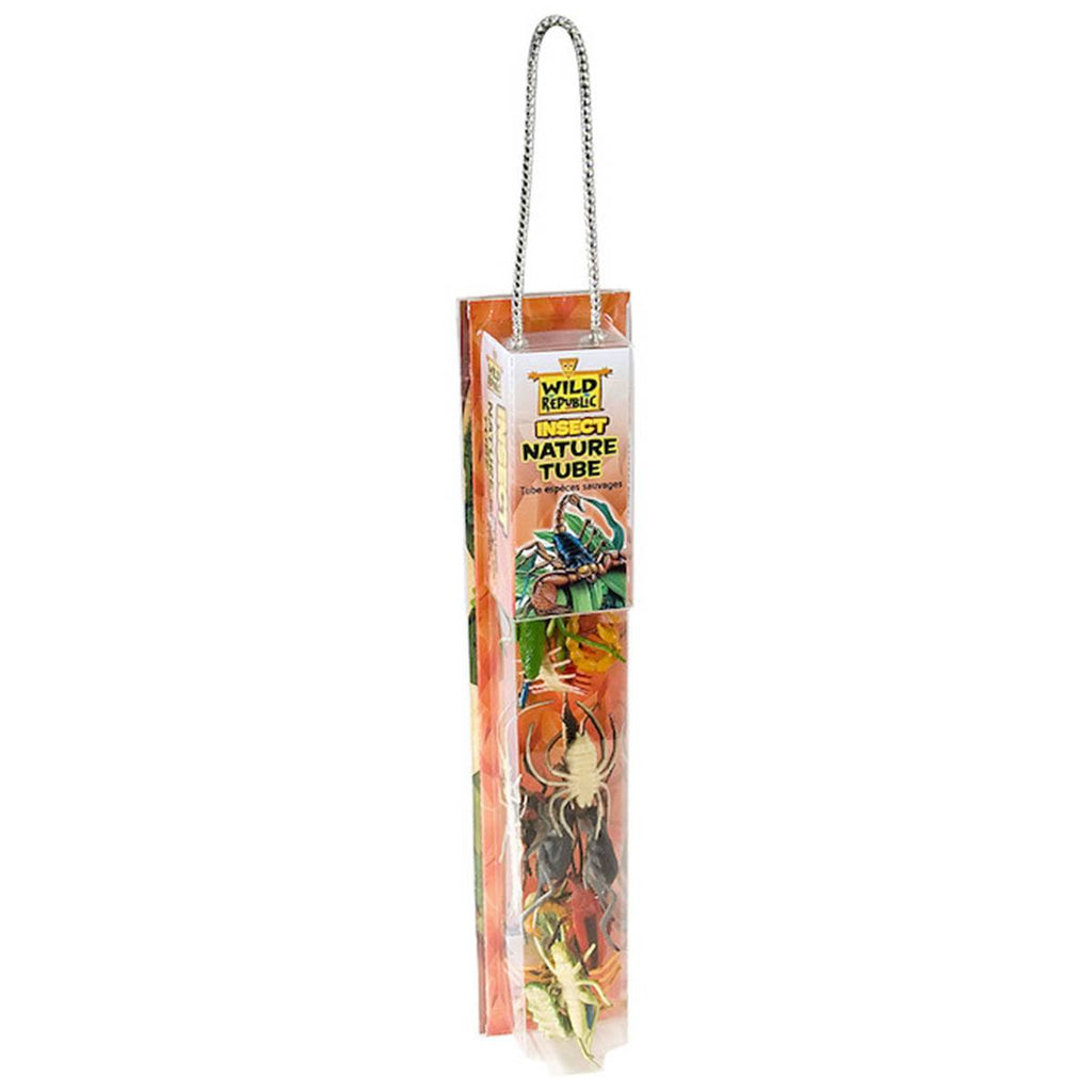 Tube Of Insect Figurines With Playmat