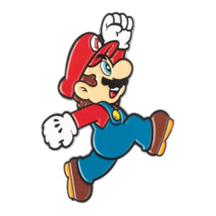 Jewelery - Bioworld Super Mario Jumping Mario Metal Pin