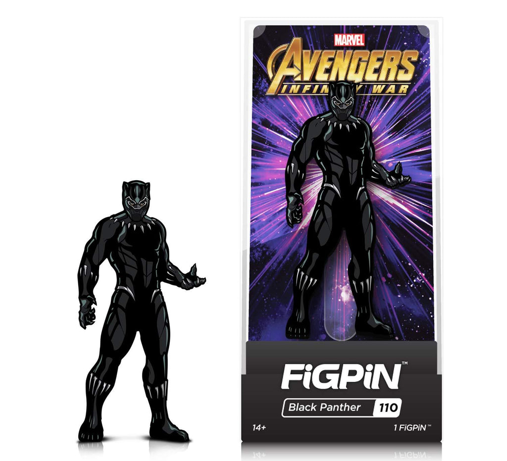 Figpin Avengers Infinity War Black Panther Collectible Pin #110