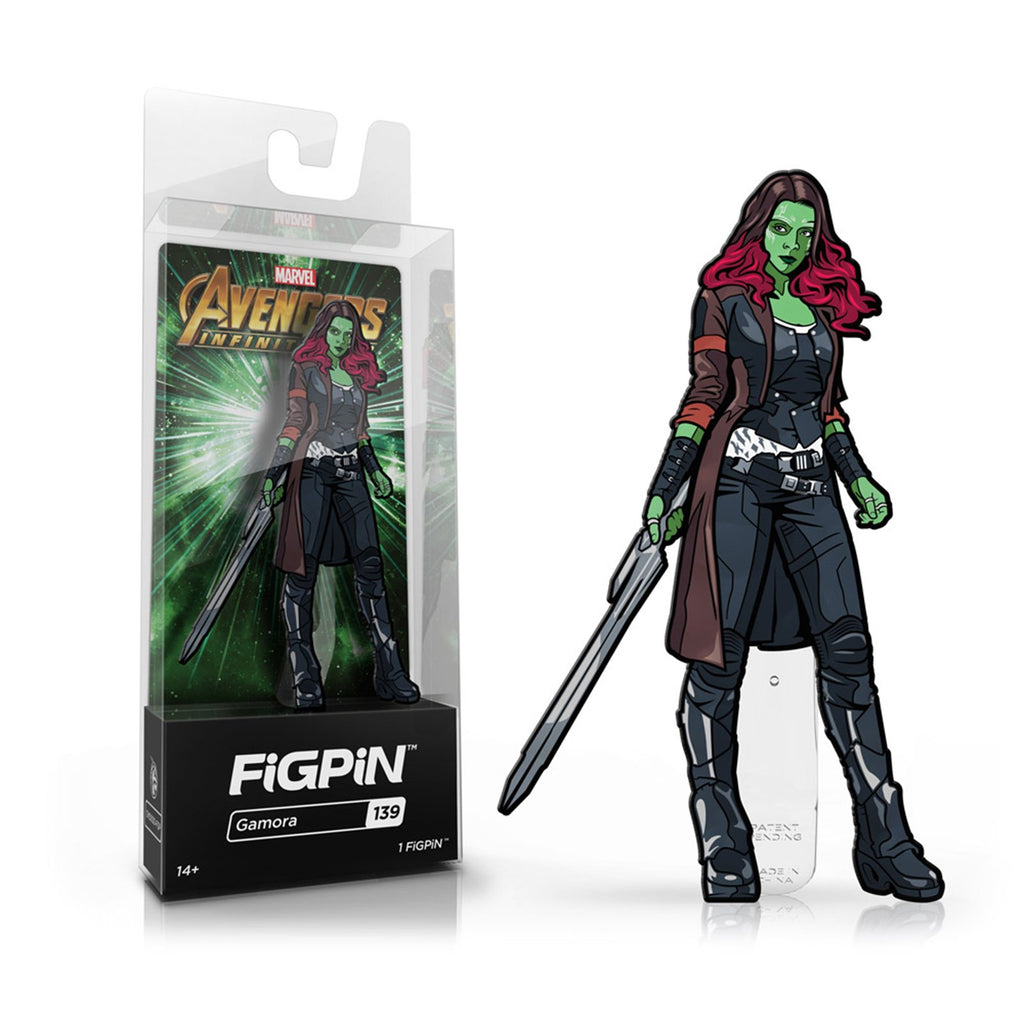 Figpin Avengers Infinity War Gamora Collectible Pin #139