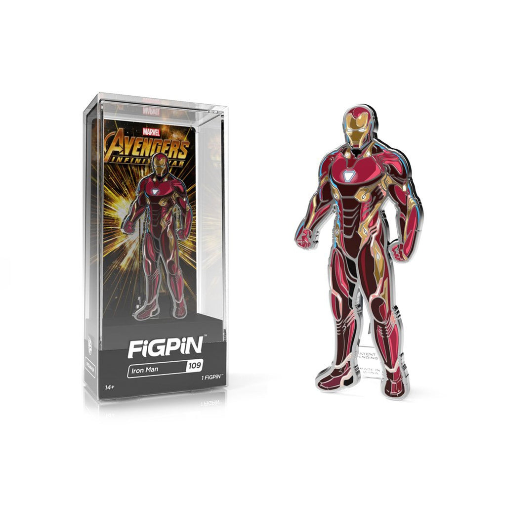 Figpin Avengers Infinity War Iron man Collectible Pin #109