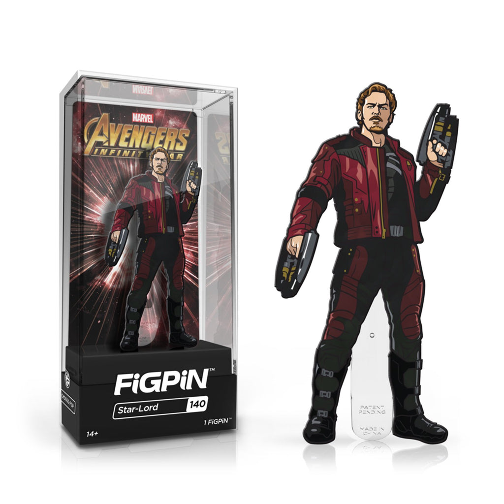 Figpin Avengers Infinity War Star-Lord Collectible Pin #140