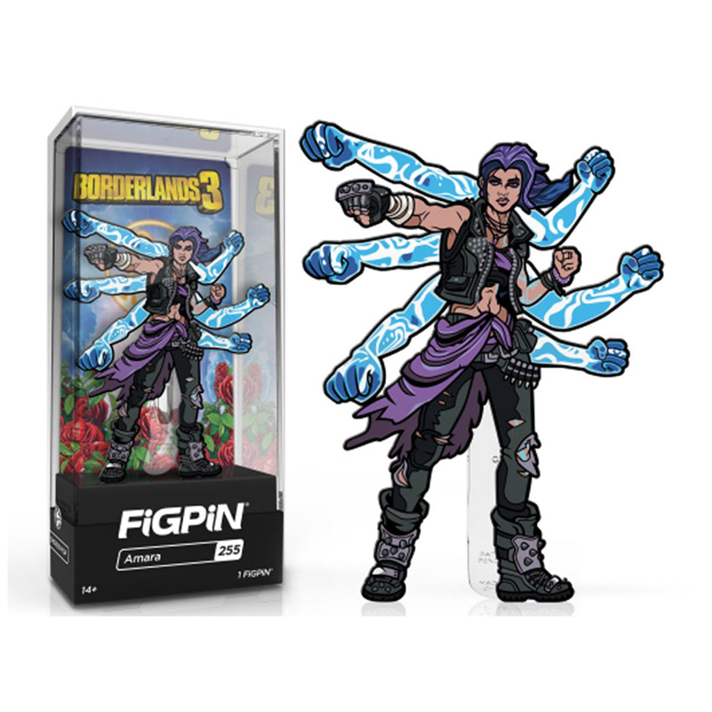 Figpin Borderlands 3 Amara Collectible Pin #255
