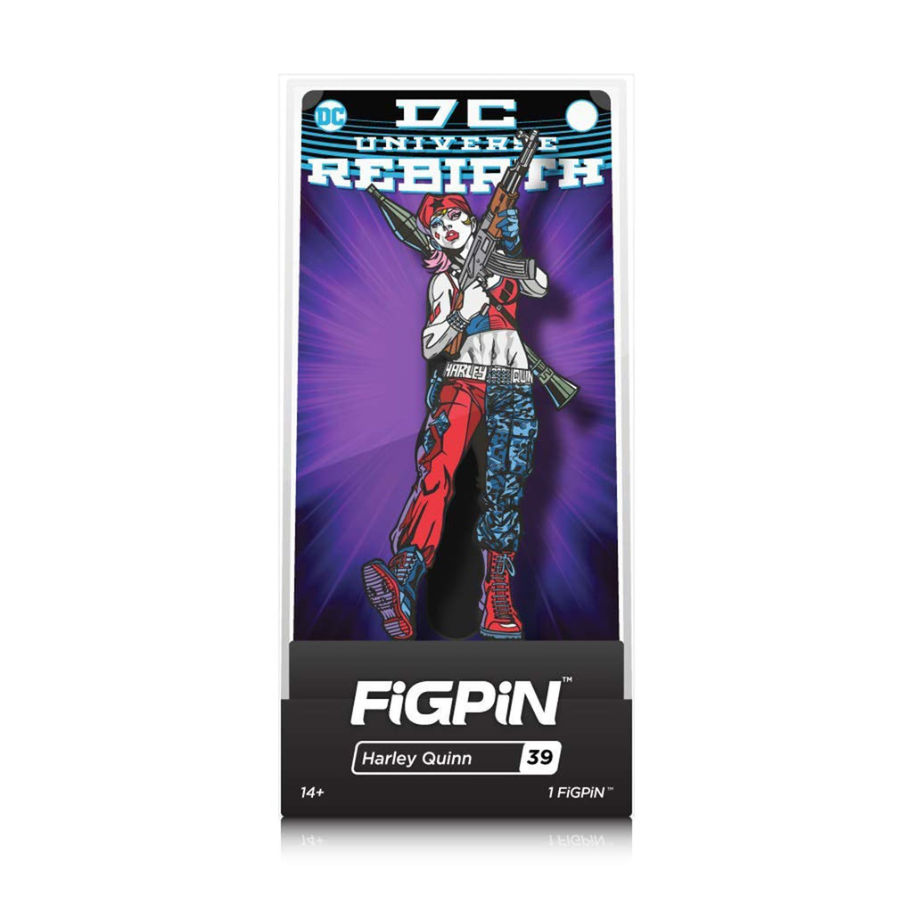 Figpin DC Universe Rebirth Harley Quinn Collectible Pin #39