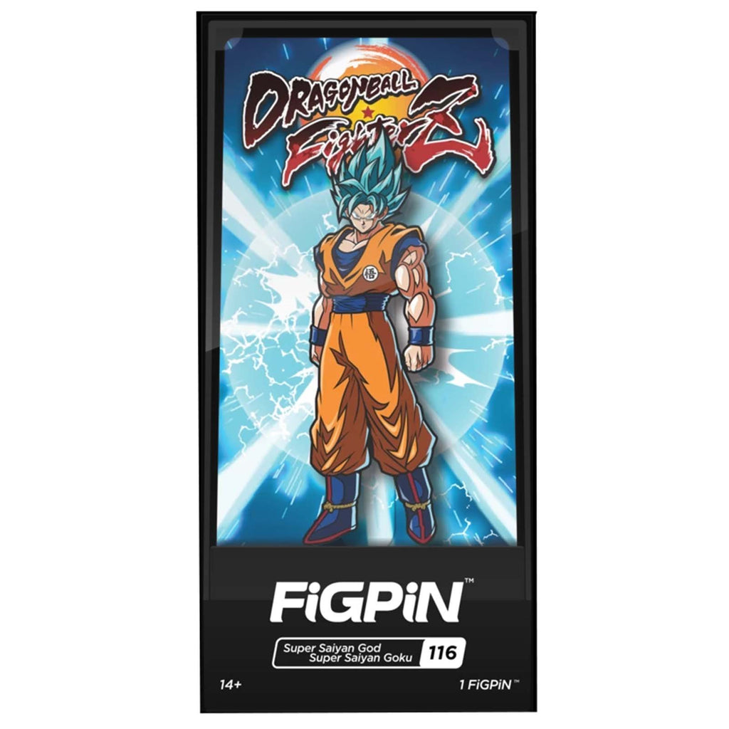 Figpin Dragon Ball Fighter Z SSGSS Goku Collectible Pin #116