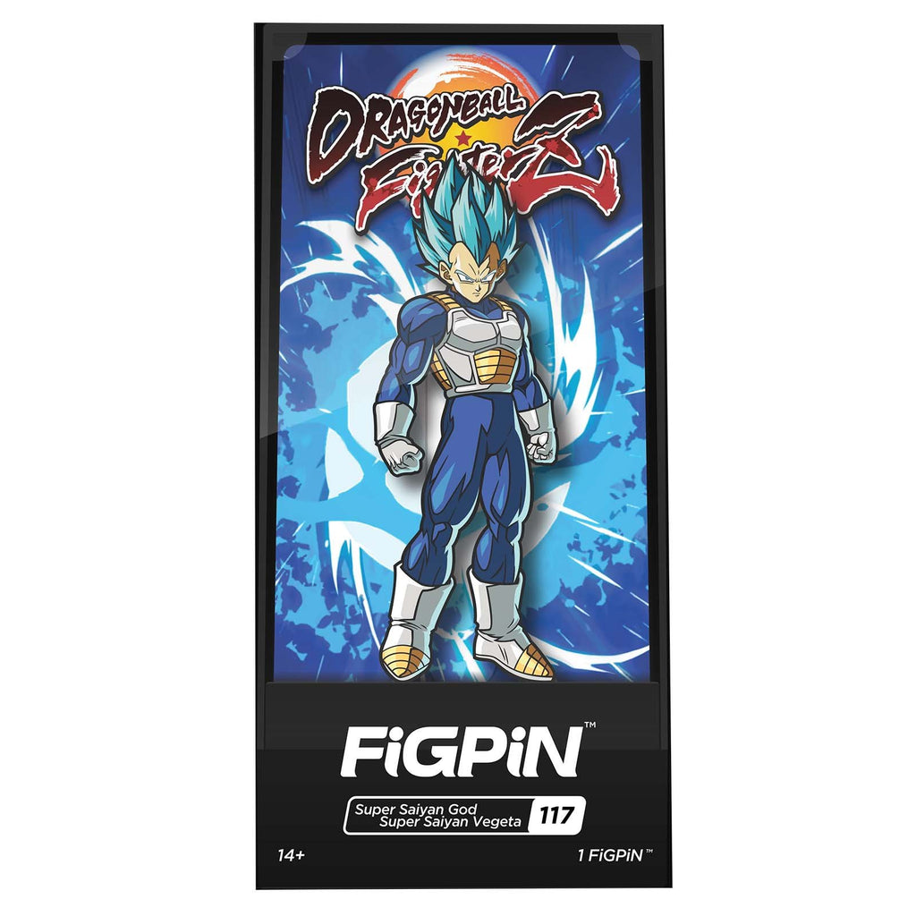 Figpin Dragon Ball Fighter Z SSGSS Vegeta Collectible Pin #117