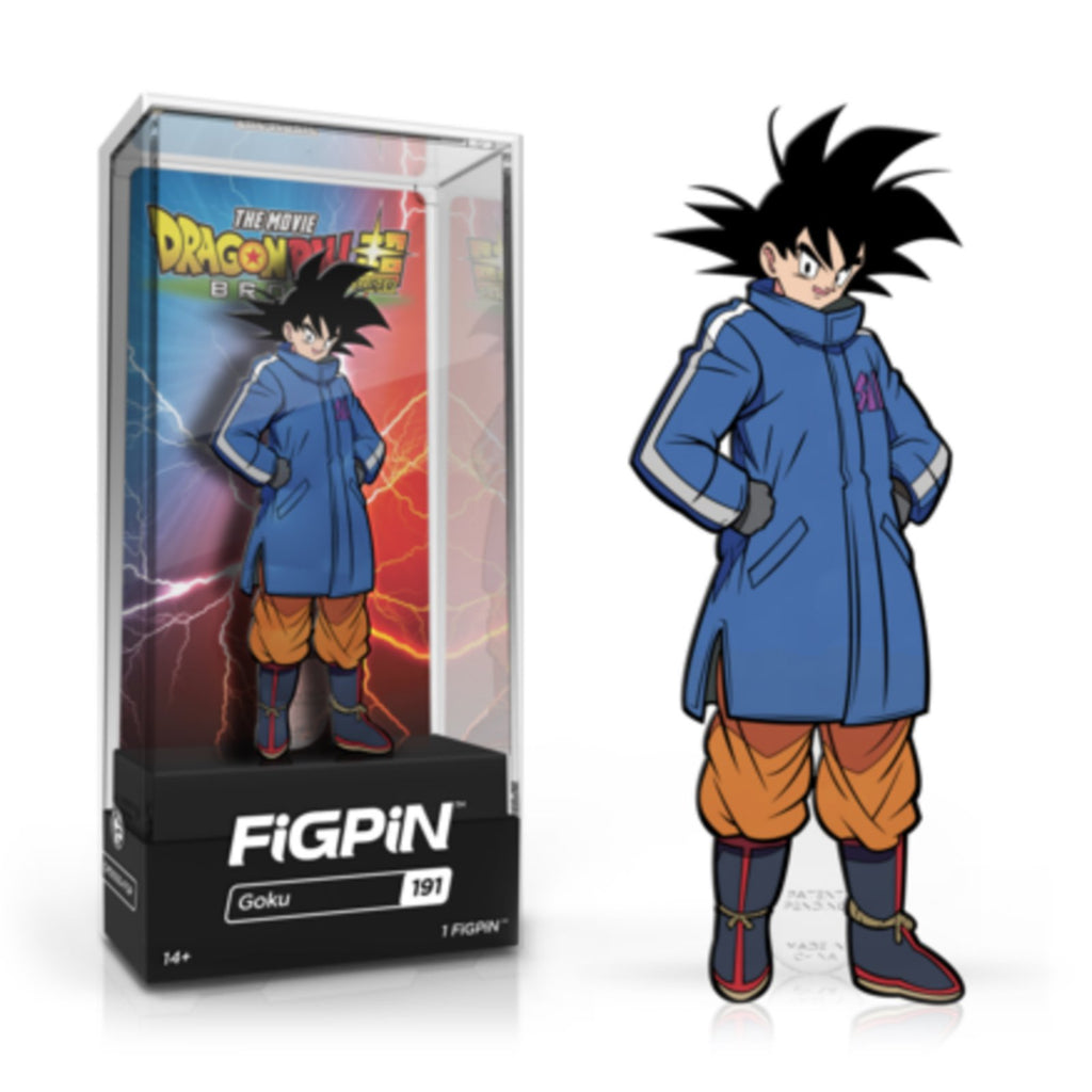 Figpin Dragon Ball Super Broly Movie Goku Collectible Pin #191