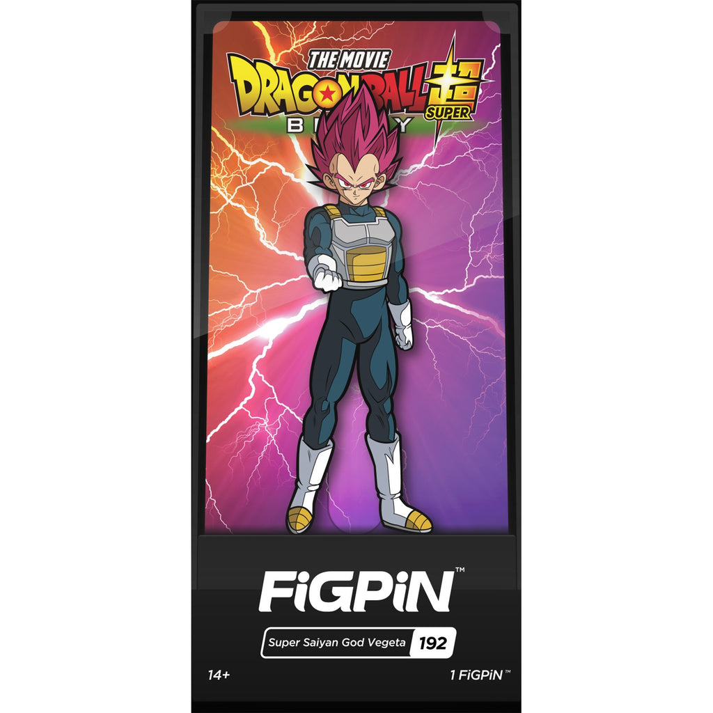Figpin Dragon Ball Super Broly Movie SSG Vegeta Collectible Pin #192