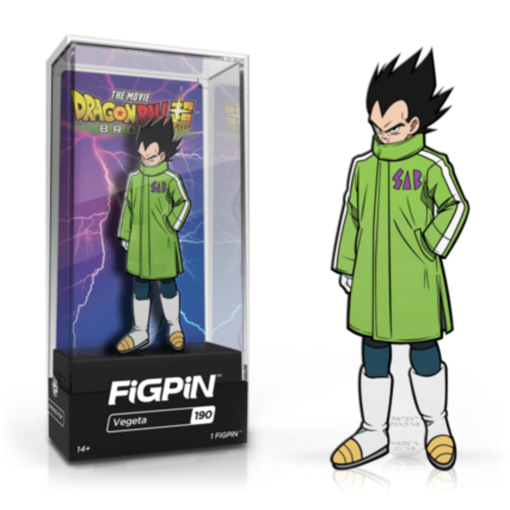 Figpin Dragon Ball Super Broly Movie Vegeta Collectible Pin #190