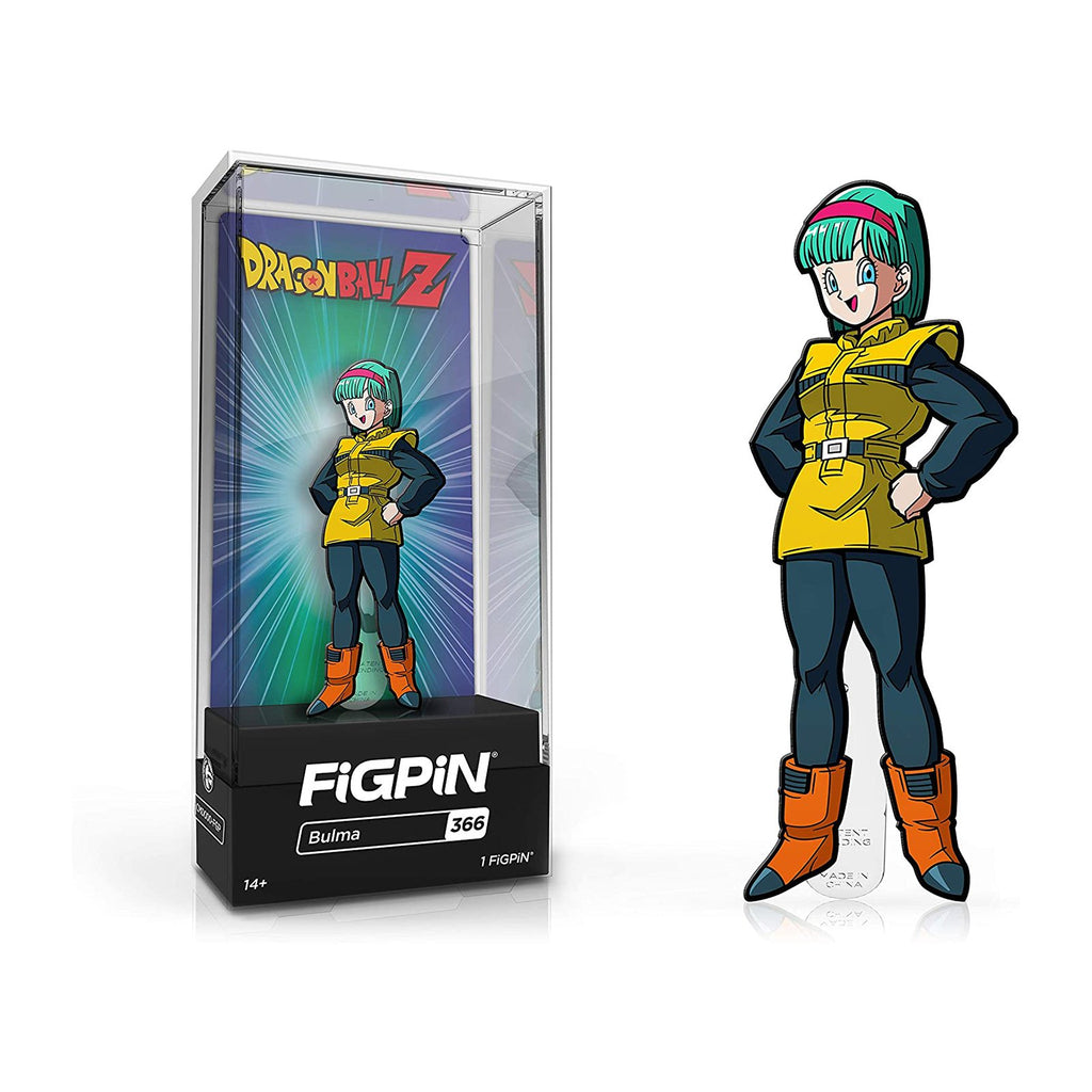 Figpin Dragon Ball Z Bulma Collectible Pin #366