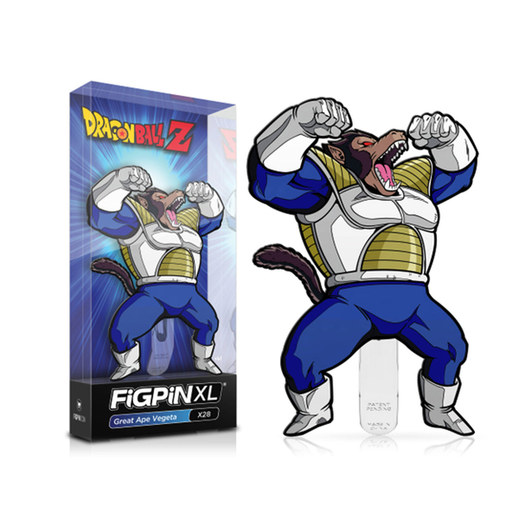 Figpin Dragon Ball Z Great Ape Vegeta XL Collectible Pin #X28