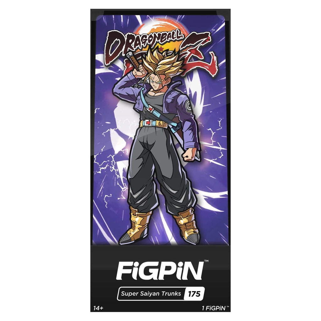 Figpin Dragonball Fighter Z Super Saiyan Trunks Collectible Pin #175