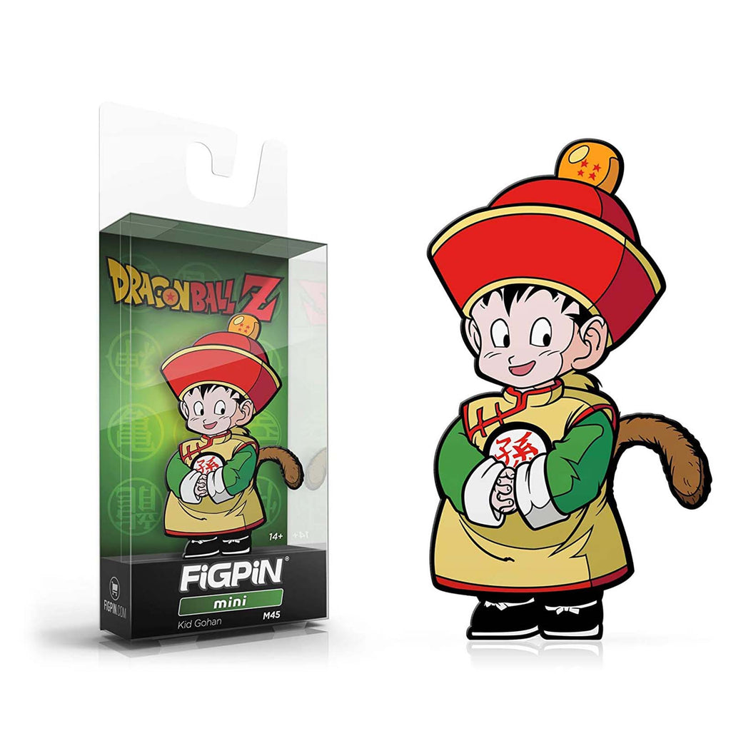 Figpin Mini Dragon Ball Z Kid Gohan Collectible Pin #M45
