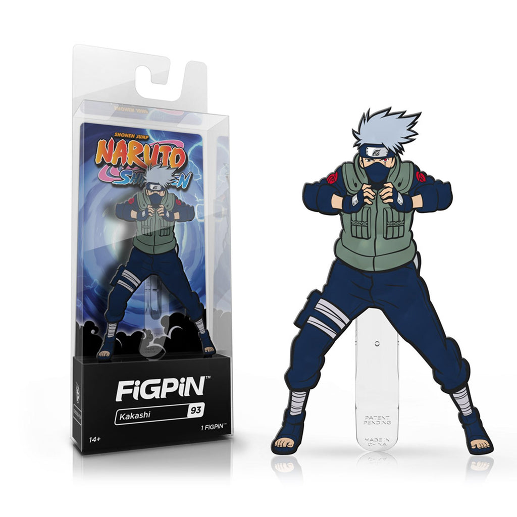 Figpin Naruto Shippuden Kakashi Collectible Pin #93