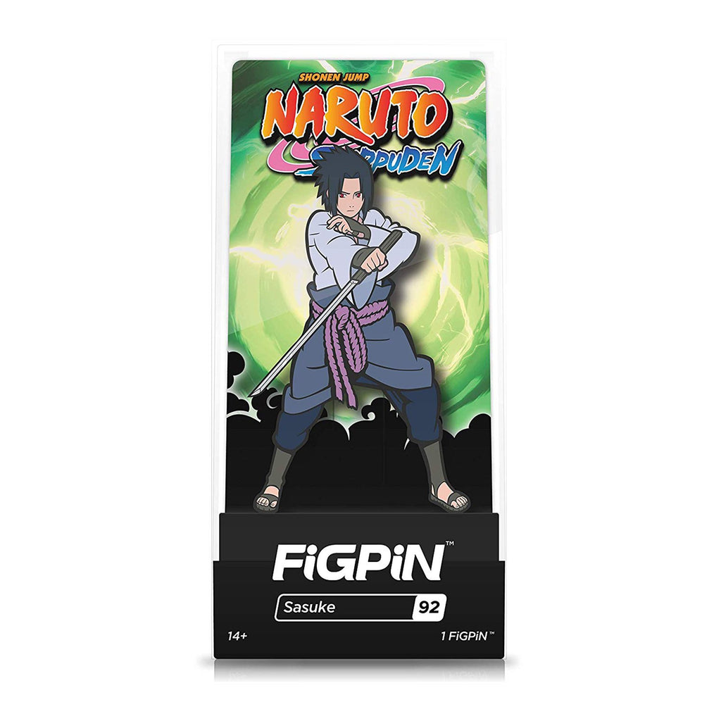 Figpin Naruto Shippuden Sasuke Collectible Pin #92