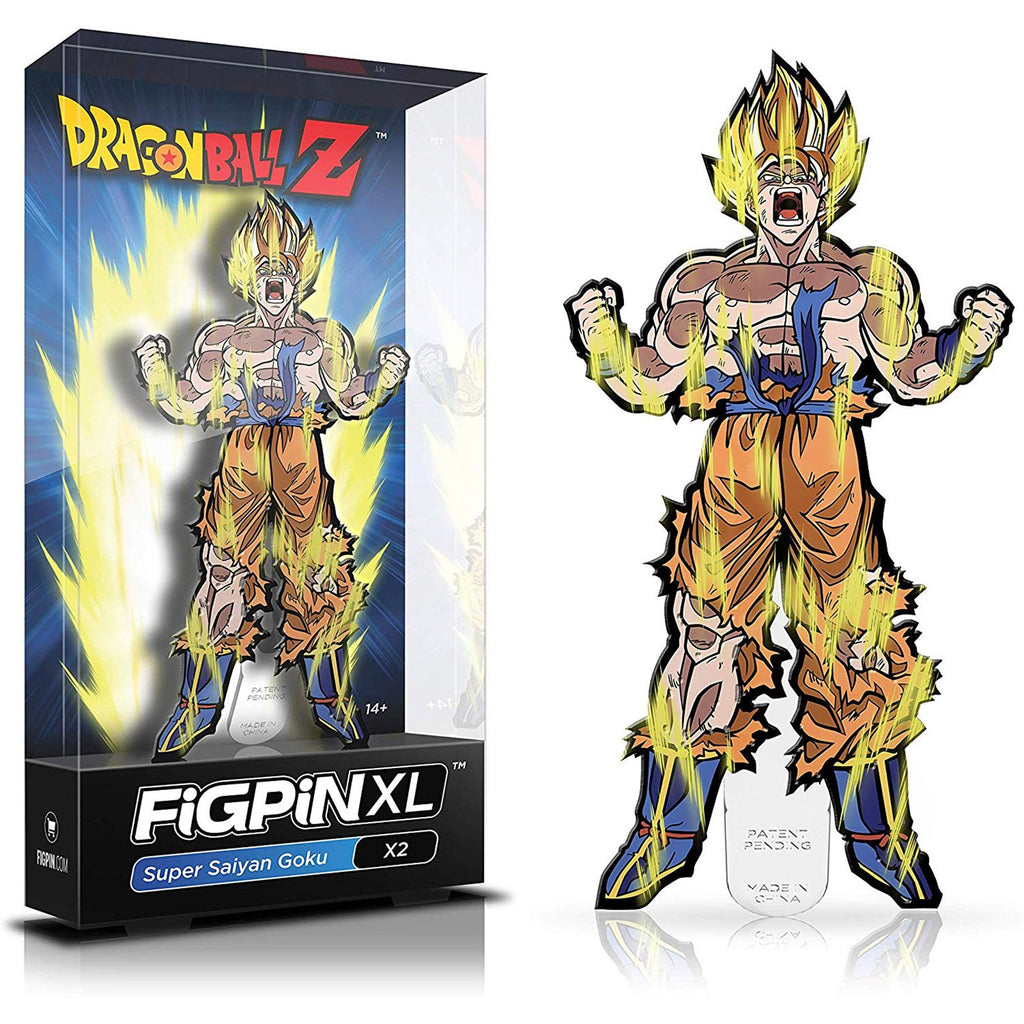 Figpin XL Dragon Ball Z Super Saiyan Goku Collectible Pin
