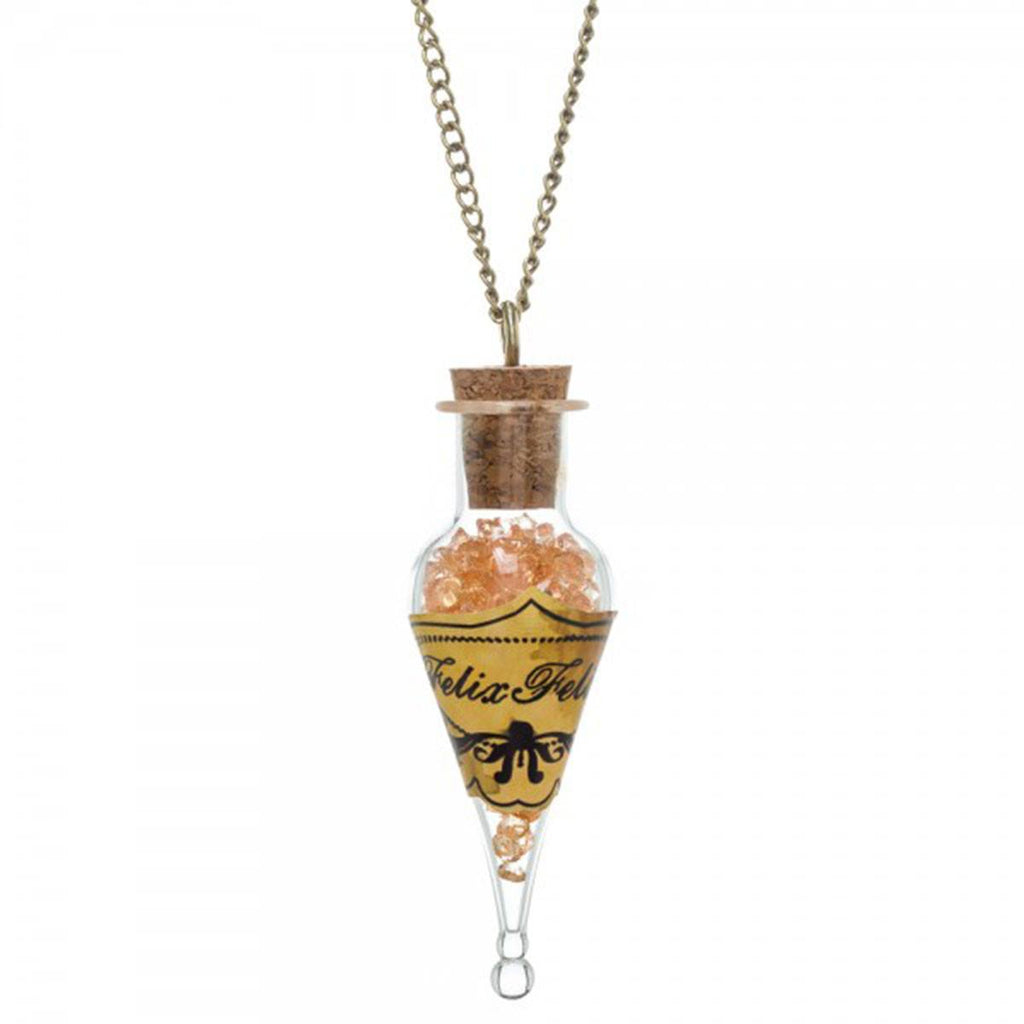 Harry Potter Felix Felicis Bottle Necklace