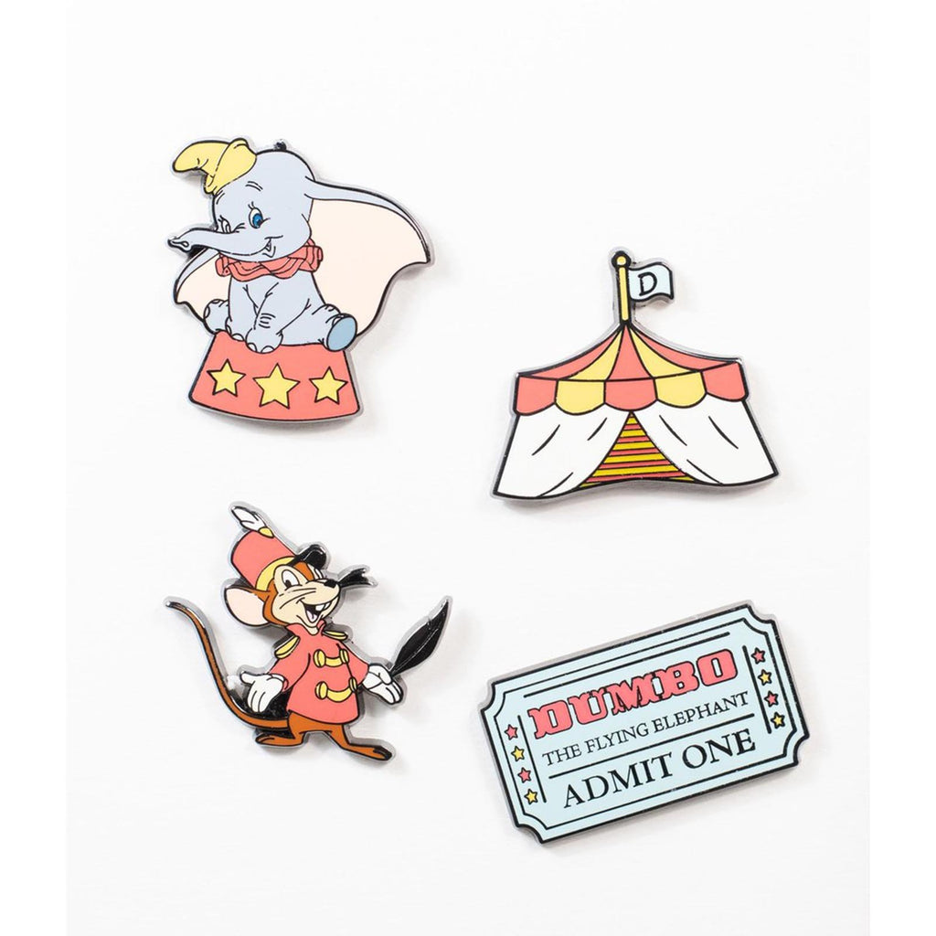 Loungefly Dumbo Enamel 4 Pin Set