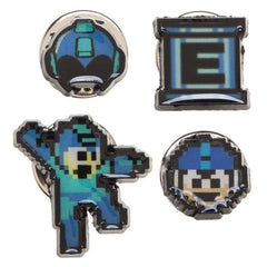 Jewelery - Mega Man 4 Pin Set