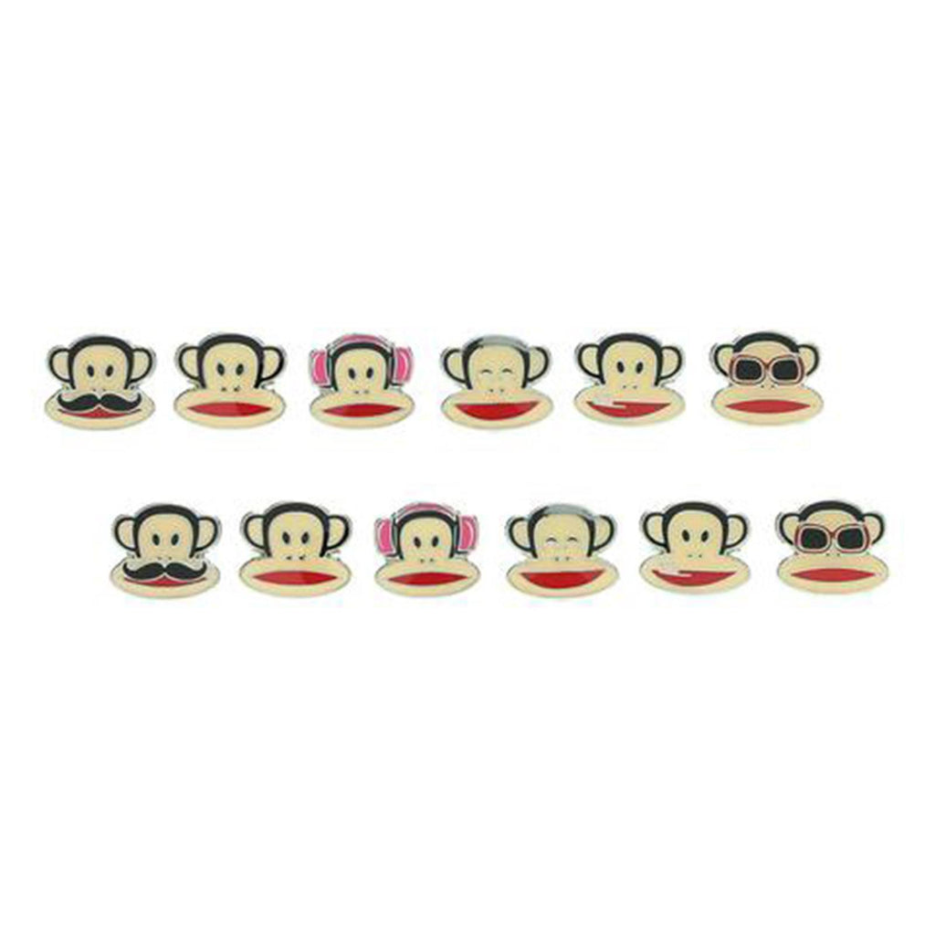 Paul Frank Julius Face Earrings 6 Piece Set