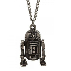 Jewelery - Star Wars R2-D2 3D Pendant Necklace