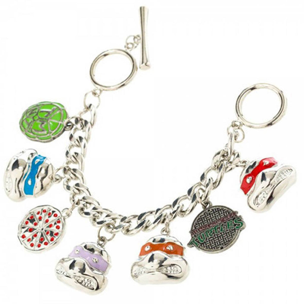 Teenage Mutant Ninja Turtles Character Charm Bracelet