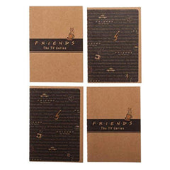 Journal - Friends TV Series 4 Pack Of Mini Notebooks