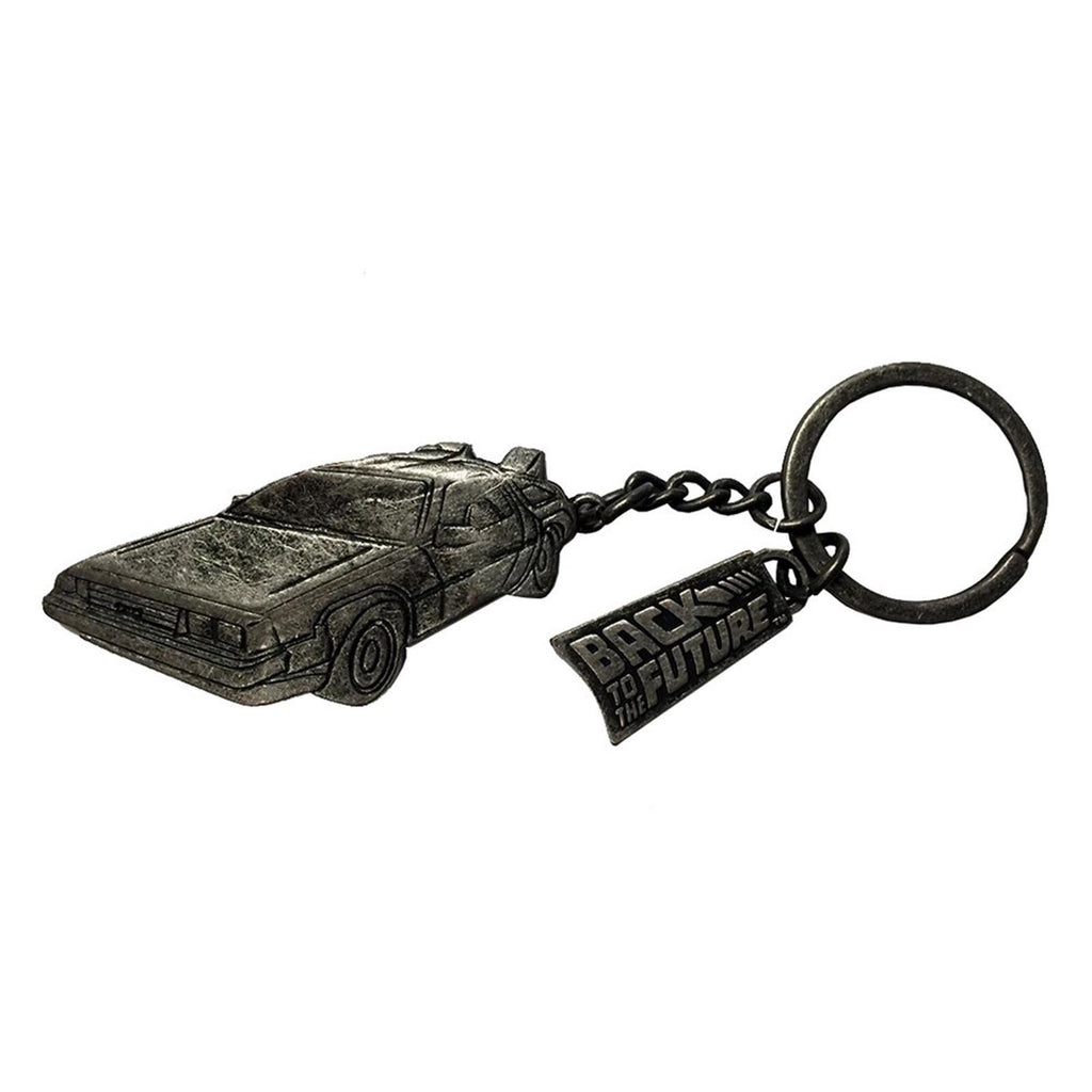 Keychain - Back To The Future Delorean Time Machine Keychain