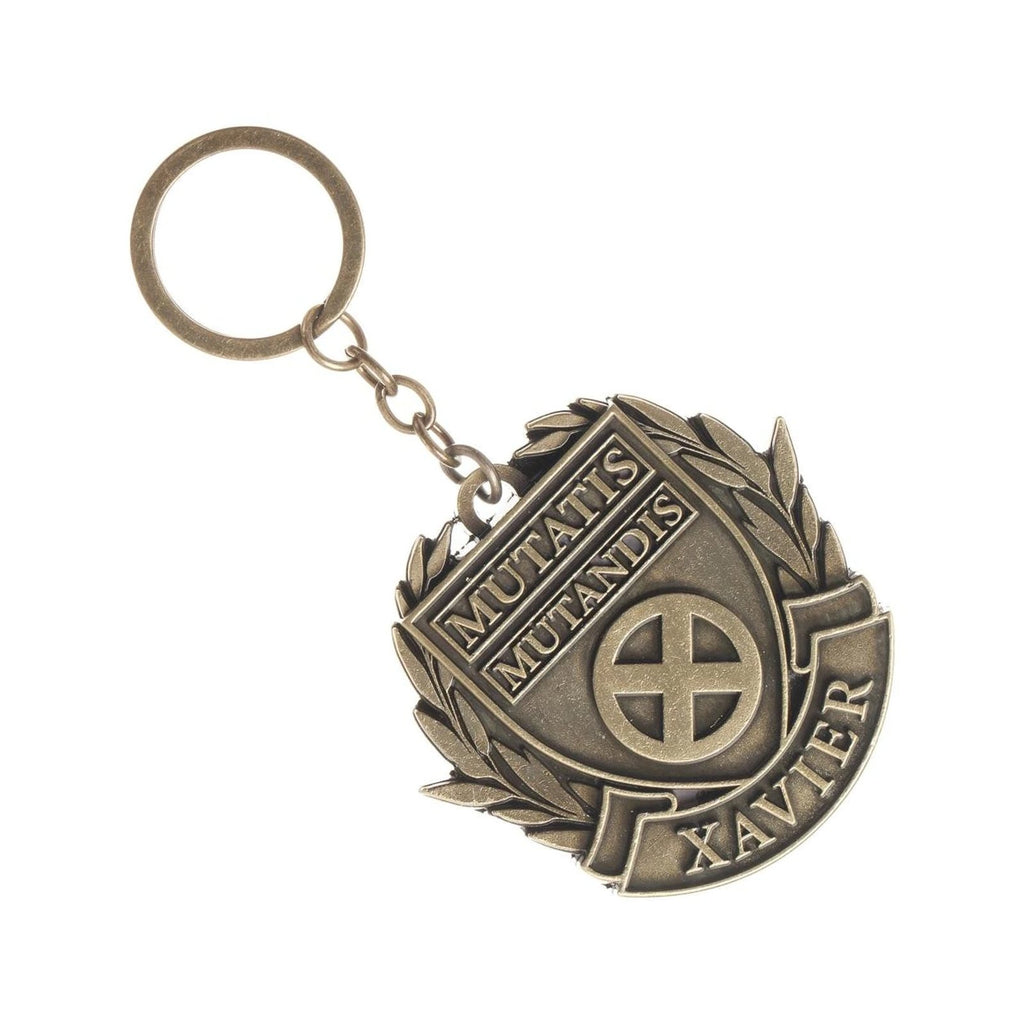 Bioworld Marvel X-Men Xavier School Emblem Metal Keychain