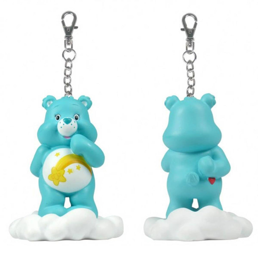 Care Bears Share a Bear Series 2 Blue Wish Bear On Cloud Keychain - Radar Toys