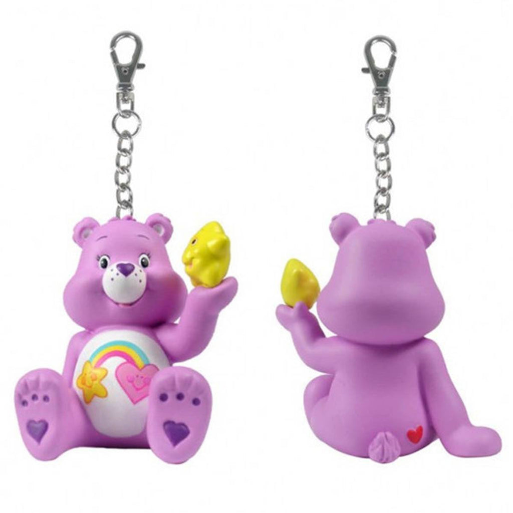 Care Bears Share a Bear Series 2 Purple Best Friend Bear With Star Keychain - Radar Toys